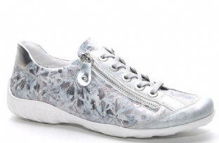 Remonte R3435-42 Ladies Silver Shoes